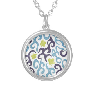 Clover Swirls Custom Necklace