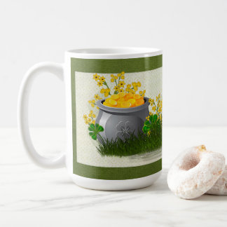 Clover Trail Whimsical Folk Art ALL DRINKWARE Coffee Mug