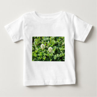 Clovers and Flowers Baby T-Shirt