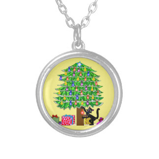 Clover's Christmas Personalized Necklace
