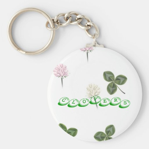 clovers, clovers keychains