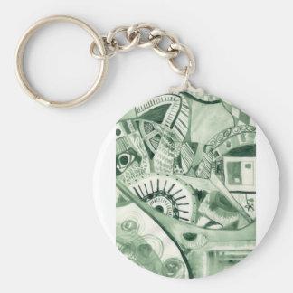 Clovers Designs Key Chain