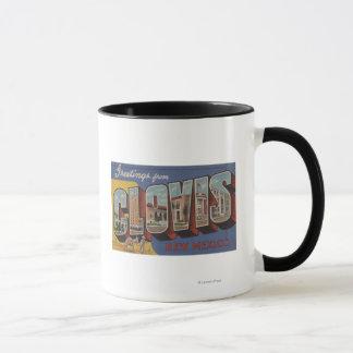 Clovis, New Mexico - Large Letter Scenes Mug
