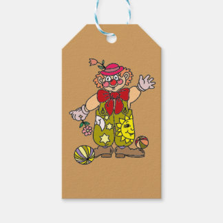 Clown 1 gift tags