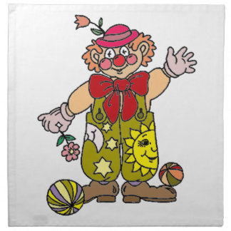 Clown 1 napkin
