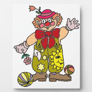 Clown 1 plaque