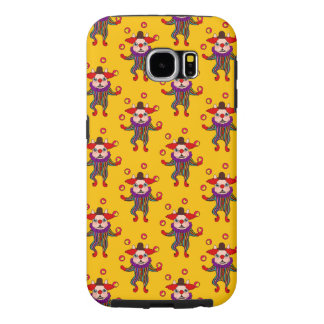 Clown Dog Frenchie entertains you with his love Samsung Galaxy S6 Cases