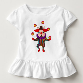 Clown Dog Frenchie entertains you with his love Toddler T-Shirt