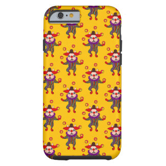 Clown Dog Frenchie entertains you with his love Tough iPhone 6 Case
