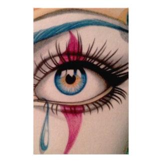 Clown Eye Stationery
