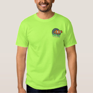 Clown Fish Embroidered T-Shirt