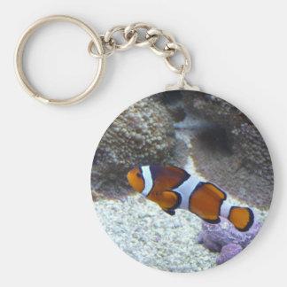 clown fish key ring