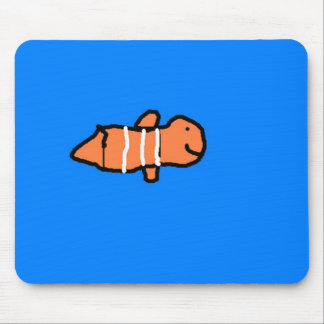 Clown Fish Mouse Pad
