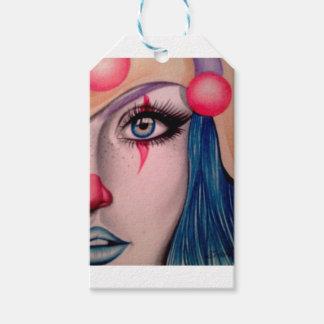 Clown Gift Tags