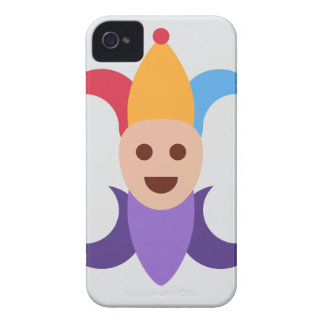 Clown/gives of king Emoticon Twitter iPhone 4 Cover
