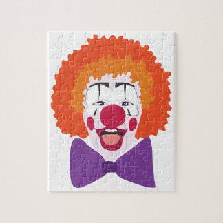 Clown Head Jigsaw Puzzle