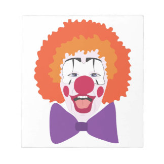 Clown Head Notepad