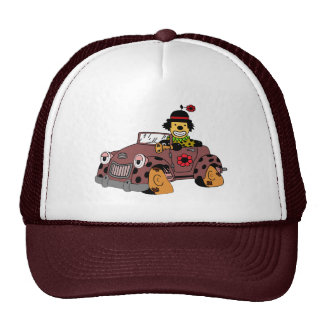 Clown in Car Cap