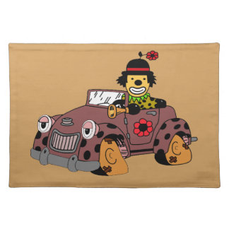 Clown in Car Placemat