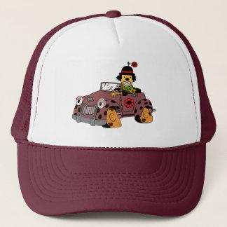 Clown in Car Trucker Hat