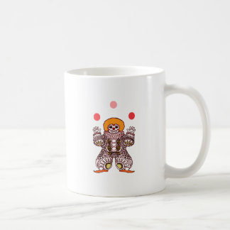 Clown Juggling Coffee Mug