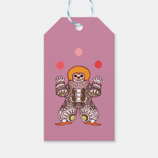 Clown Juggling Gift Tags