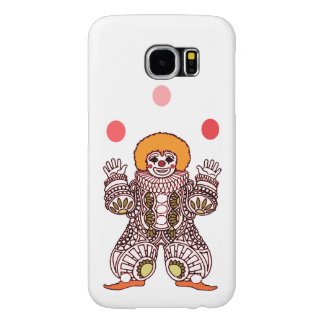 Clown Juggling Samsung Galaxy S6 Cases