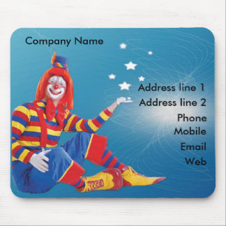 Clown Mouse Pad