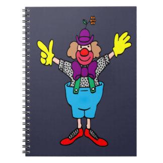 Clown Notebooks