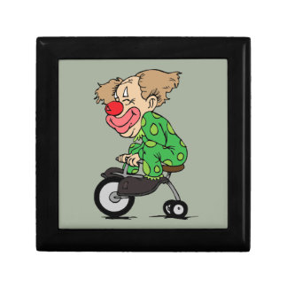 Clown on Tricycle Gift Box