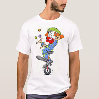 clown_on_unicycle T-Shirt