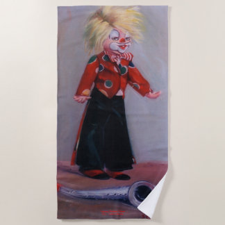 Clown/Pallaso/Clown Beach Towel