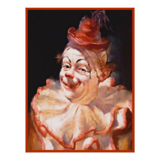 Clown poster painting  15