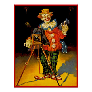 Clown poster painting  16