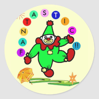 Clown Reward Sticker
