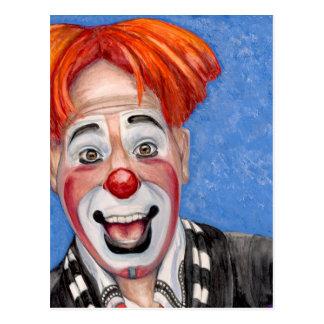 Clown Ryan Combs Postcard