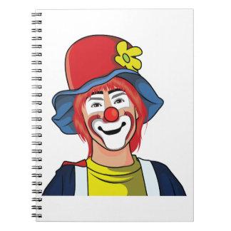 Clown Spiral Notebook