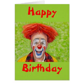 Clown Steven Daniel Copeland Card