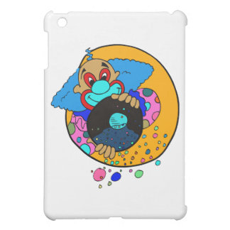 Clown throwing confetti case for the iPad mini