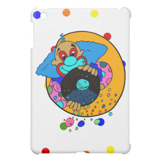 Clown throwing confetti iPad mini case