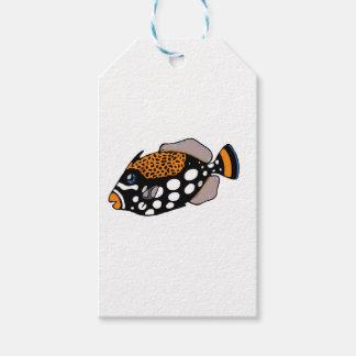 Clown Triggerfish Gift Tags