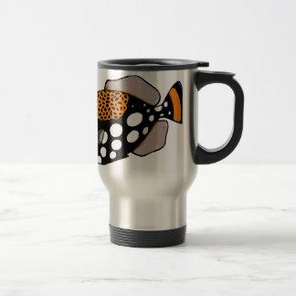 Clown Triggerfish Travel Mug