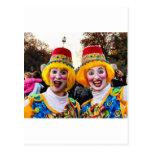 Clown Twiins Postcards