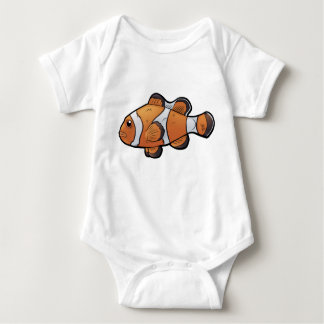Clownfish Baby Bodysuit