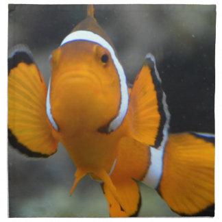clownfish facing front napkin