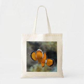 clownfish facing front tote bag