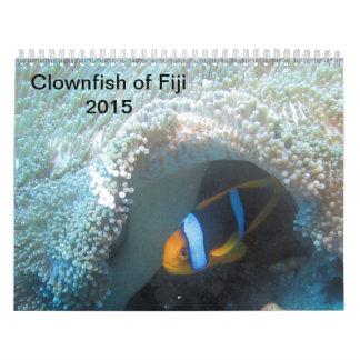 Clownfish of Fiji 2015 Calender Calendar