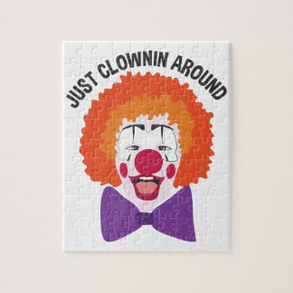 Clownin Around Jigsaw Puzzle