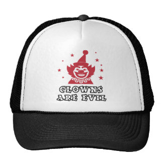 Clowns Are Evil Trucker Hat