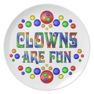 Clowns are Fun Plate